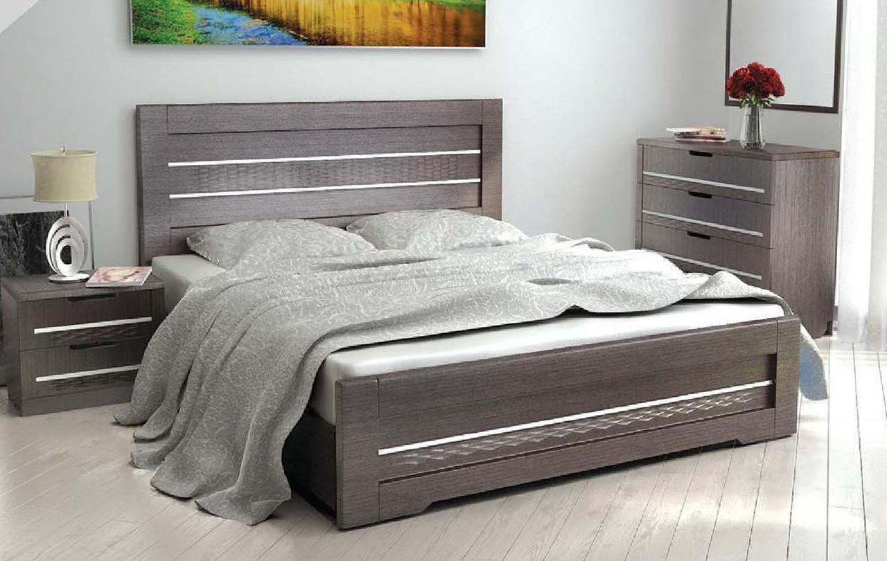 """Кровать """"Соломия"""" С подкроватными ящиками 2 шт."""