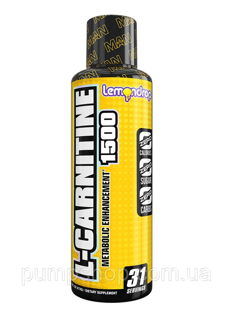 Л-карнитин MAN Sports L-Carnitine 1500 31 порц.