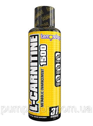 Л-карнітин MAN Sports L-Carnitine 1500 31 порц., фото 2