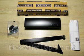 Дверной доводчик GEZE TS 2000 V BC с тягой, цв. чёрный