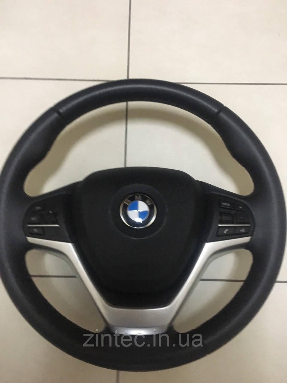 Руль на BMW X5-X6 2017год с аэрбэгом НОВЫЙ!