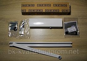 Доводчик GEZE TS 3000 V со скольз.шиной +фиксация