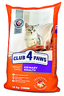 Клуб 4 лапы Urinary Health 14 кг - Корм для профилактики мочекаменной болезни у кошек, фото 1