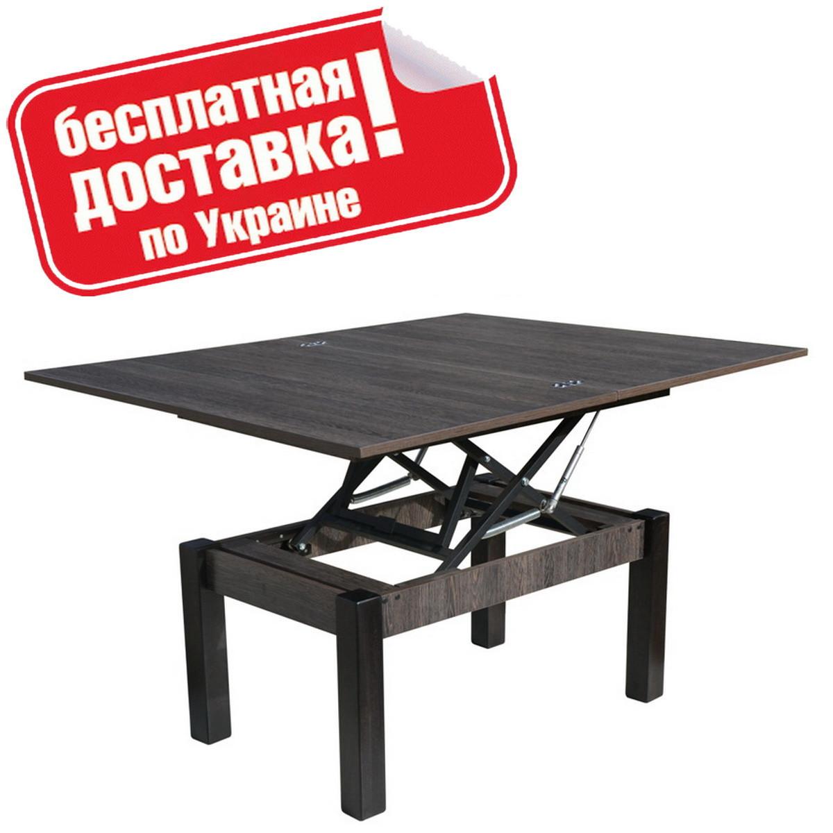 "Столик журнальный ""Баттерфлай"" 120х91х75 см. Венге Аруша"