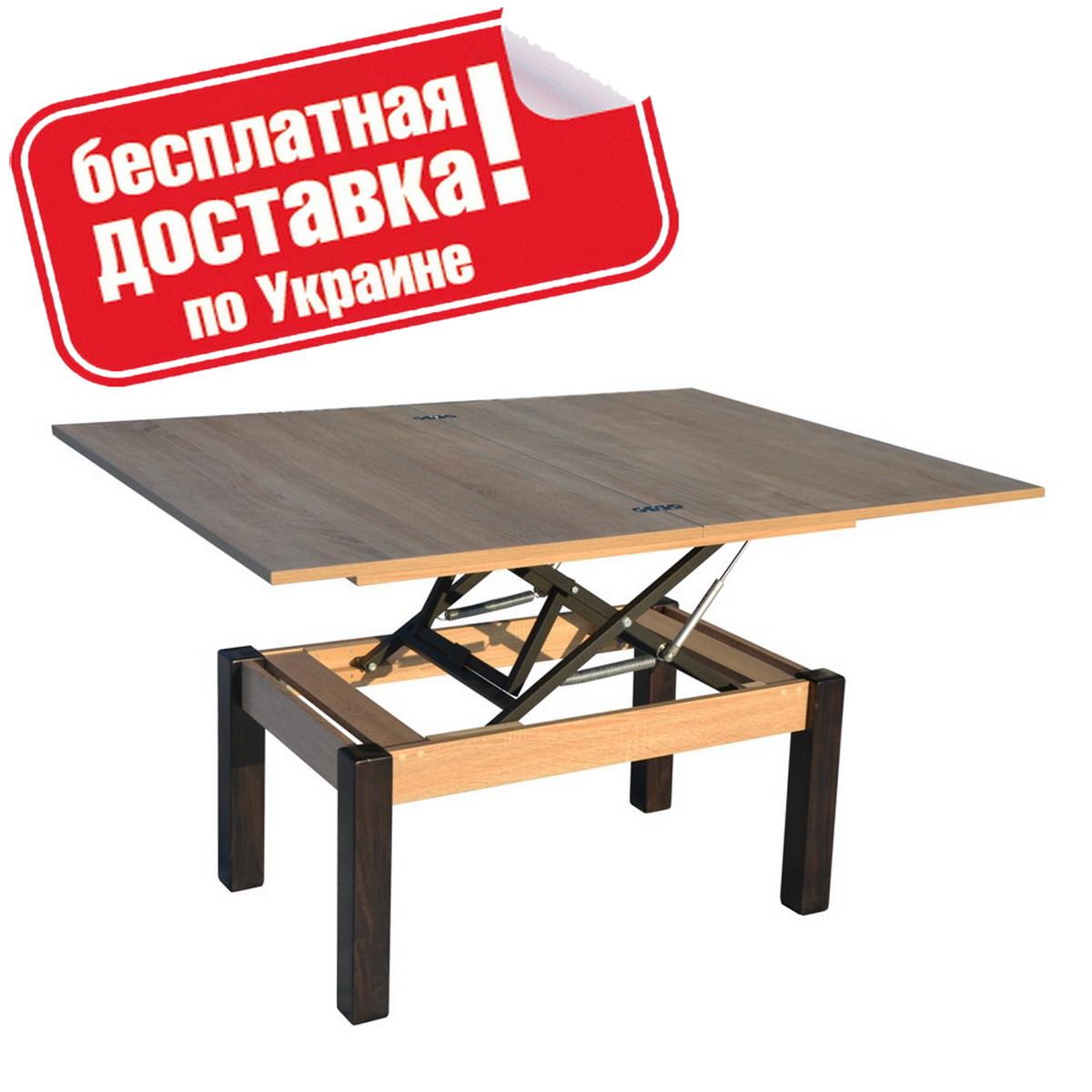 """Столик журнальный """"Баттерфлай"""" 120х91х75 см. ДубСонома"""