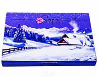 """Подарочный набор мыла """"Зима в Карпатах"""", 4 шт"""