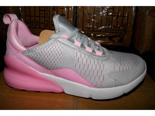 Кроссовки подростковые Jomix 8219 - 15 серый с розовым