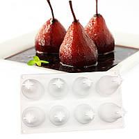 """Силиконовая форма для евродесертов, """"Pear"""" форма для муссовых тортов и десертов"""