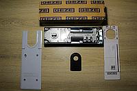 Напольный доводчик GEZE TS 500 NV с фиксацией + крышка
