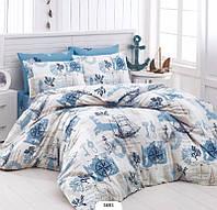 Полуторное постельное белье LightHouse бязь голд COMPASS 5693_1.5LH