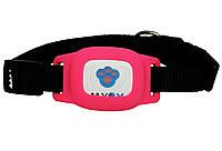 Gps ошейник для кошек Myox MPT-03CG розовый - 141017