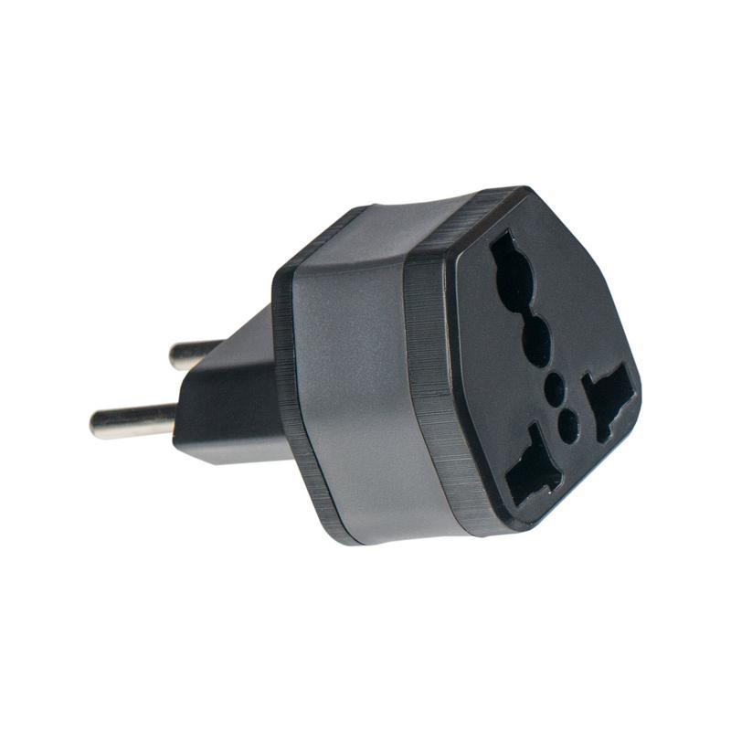 СЗУ Remax Universal Travel Adapter Black