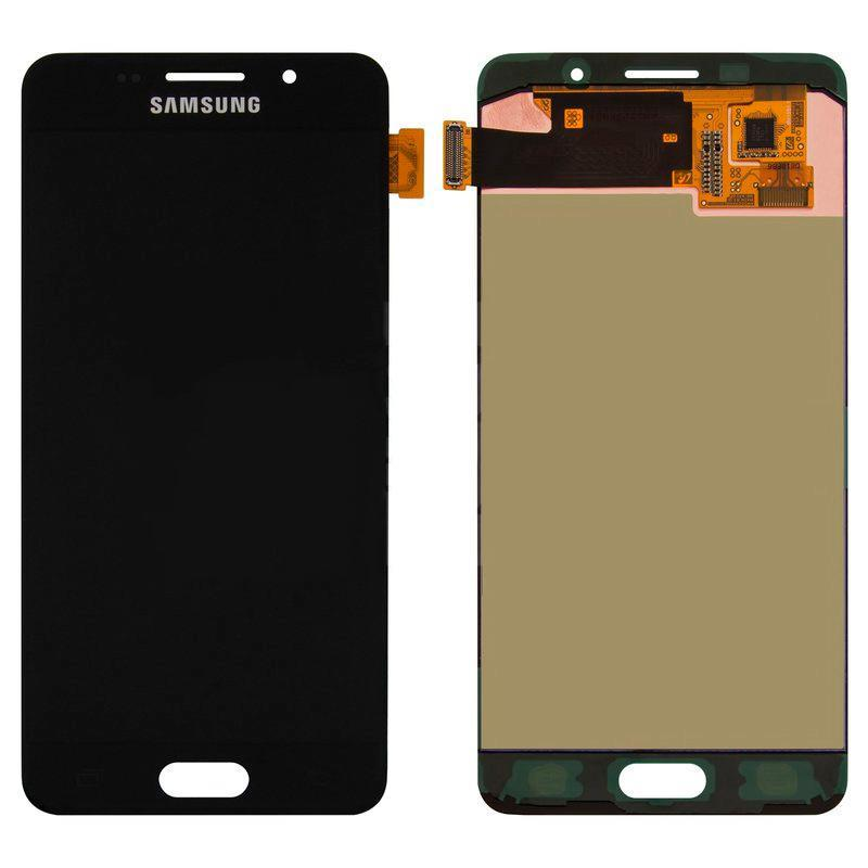 LCD Samsung A510/A5-2016 + touch Black (100% Service OR)