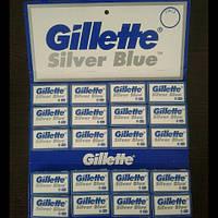 Лезвия двухсторонние Gillette Silver ( Жиллетт сталь ) 5 шт. Новый дизайн!, фото 1