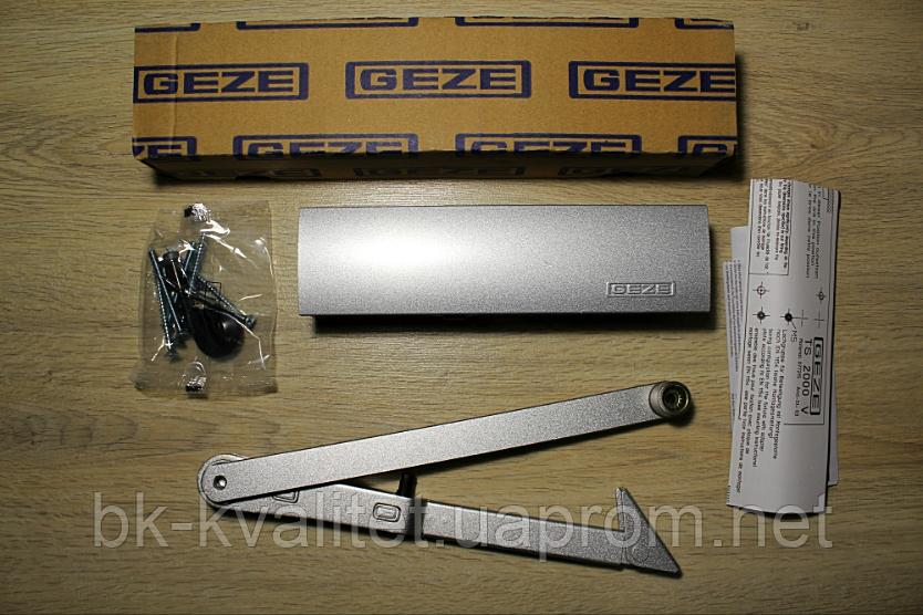 Дверной доводчик GEZE TS 2000 V ВС + тяга с фиксацией