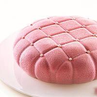 """Силиконовая форма для евродесертов, """" ELEGANZA"""" форма для муссовых тортов и десертов"""