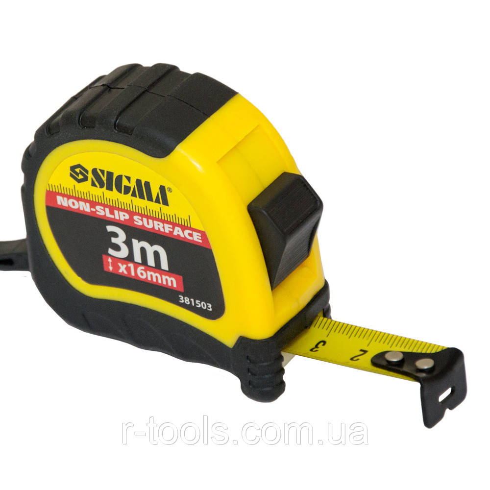 Рулетка shiftlock 3м*16 мм Sigma 3815031