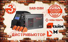 Сварочный аппарат сварка Dnipro-M SAB-258N + Маска хамелеон + набор магнитных угольников
