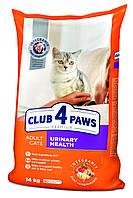 Корм Клуб 4 лапы Urinary Health 5 кг для профилактики мочекаменной болезни у котов и кошек