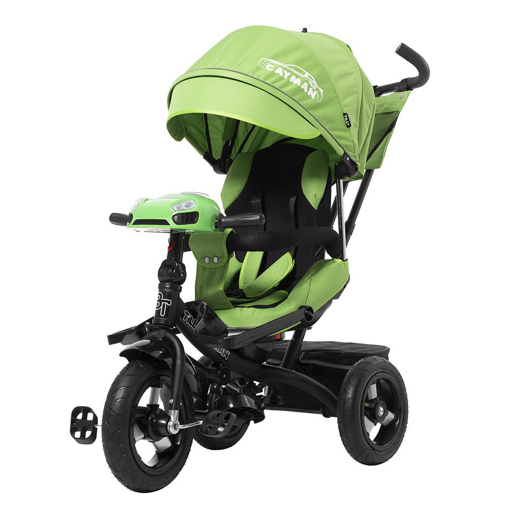 Велосипед трехколесный TILLY CAYMAN с усиленной рамой T-381 Зеленый /1/