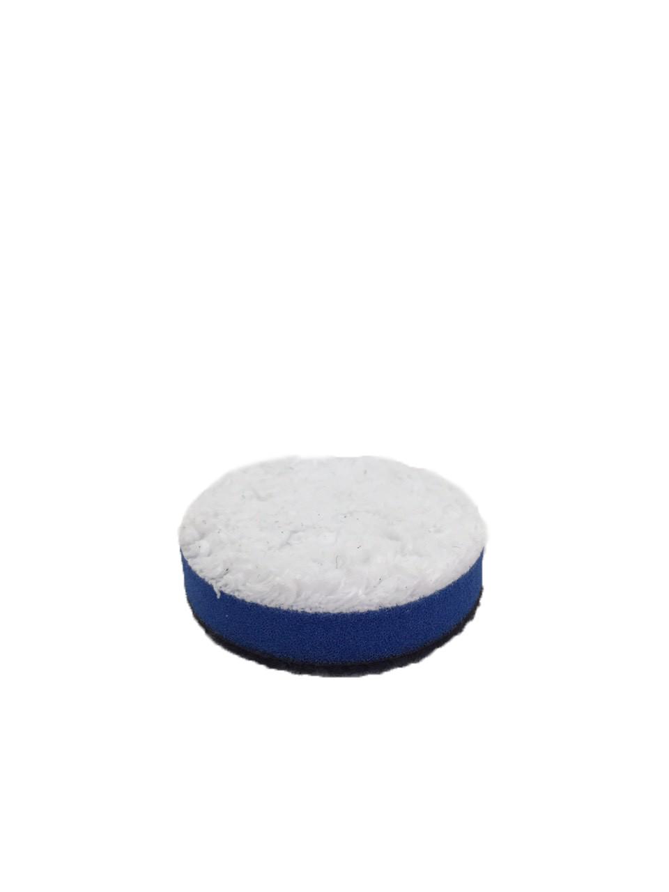 Полировальный круг микрофибровый жесткий - Lake Country Microfiber White Cutting 50 мм (MF-225 CUT)