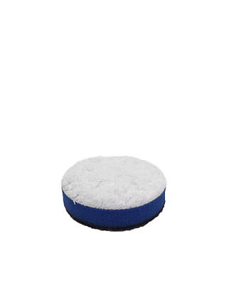 Полировальный круг микрофибровый жесткий - Lake Country Microfiber White Cutting 50 мм (MF-225 CUT), фото 2