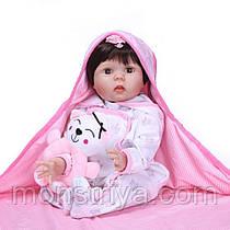 Кукла Реборн девочка/ Reborn 53 см. Закрываются глаза