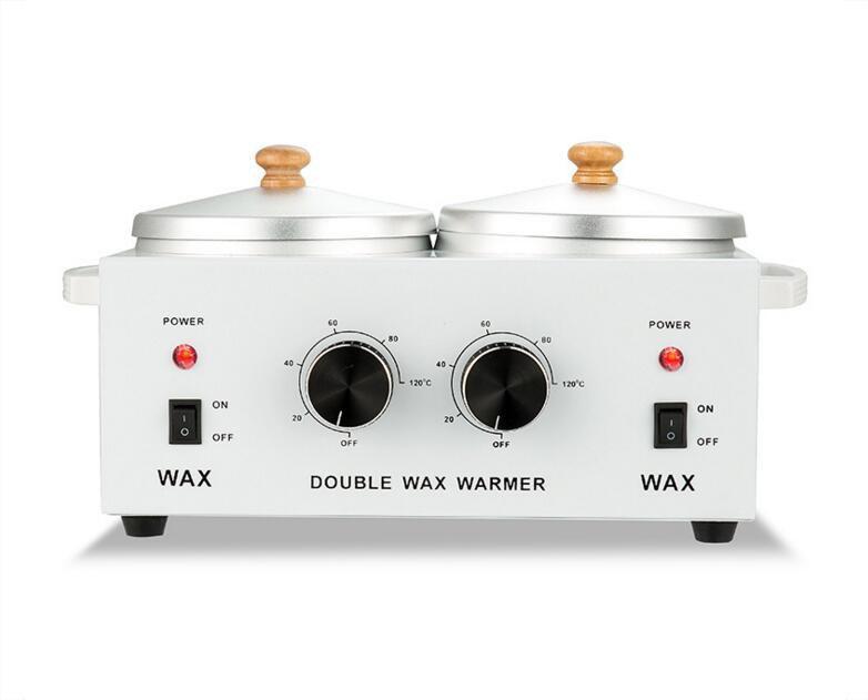 Баночный воскоплав двойной Double Wax Warmer, для разогрева воска