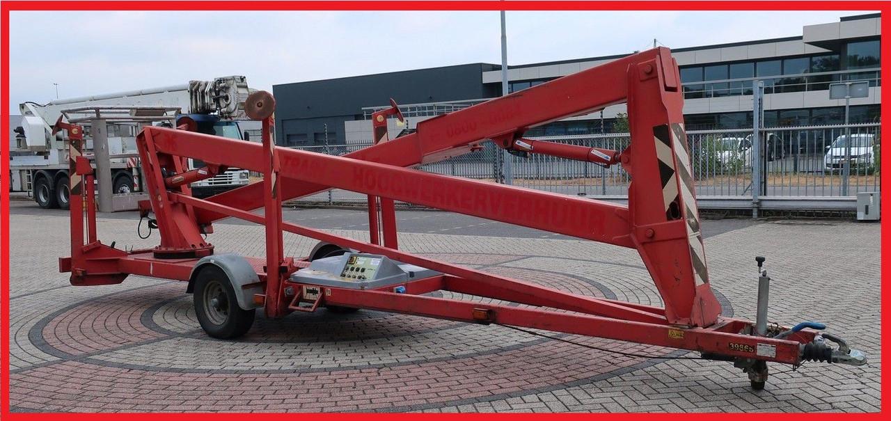 Прицепной подъемник SkyHigh 1800, электро, 18 метров рабочая высота, 230V, 215 кг грузоподъемность