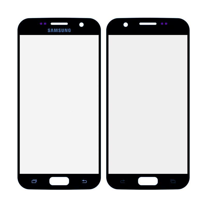 Деталь стекло для переклейки Samsung G930 (S7) Blue
