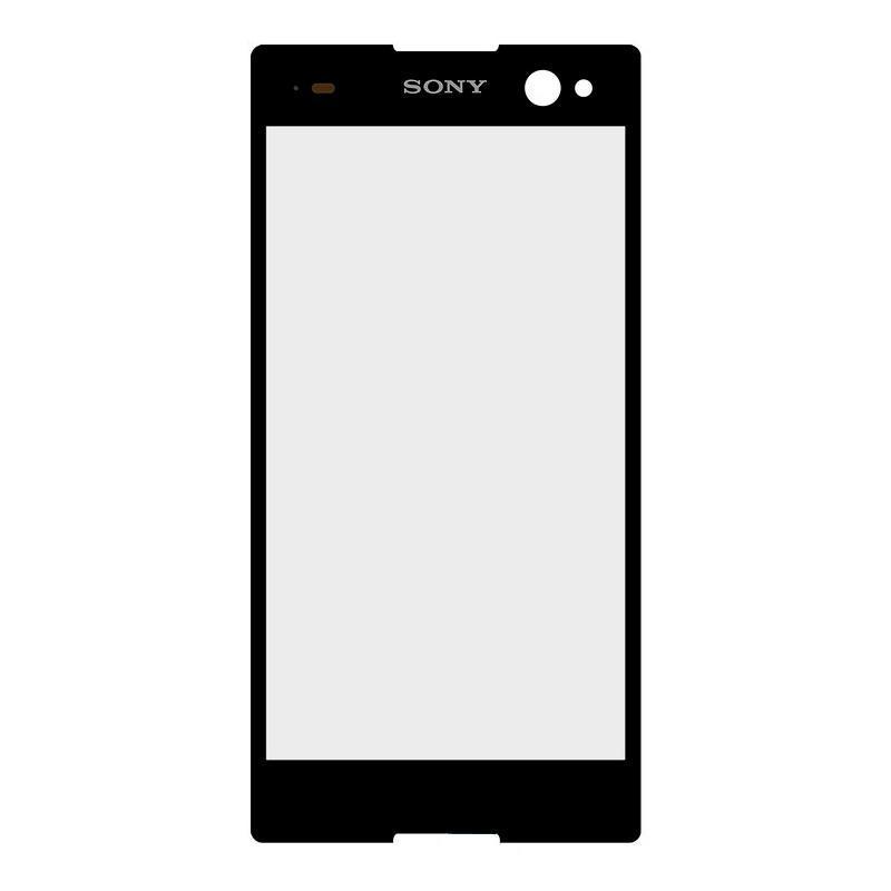 Деталь стекло для переклейки Sony Xperia C3 Black