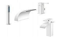 Набор смесителей  для ванны и раковины  Silla SIL-1006 и SIL-1001