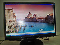"Монитор 22"" Philips Brilliance 220B2 /ЖК TNT+film/1680x1050/ DVI, VGI, USB стереоколонки БУ"