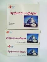 Эуфиллин-фарм , таблетки 0,25 г №80