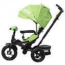 Велосипед триколісний TILLY CAYMAN з посиленою рамою T-381 Зелений /1/, фото 2