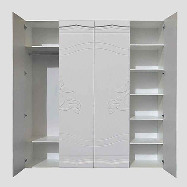 """Шкаф купе """"Роза"""" 200х53х210 см. Белый"""