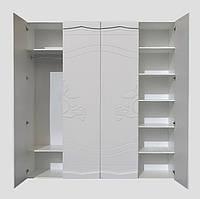 """Шкаф купе """"Роза"""" 200х53х210 см. Белый, фото 1"""