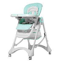 Стульчик для кормления голубой CARRELLO Caramel CRL-9501/3 Sky Blue деткам от 6 до 36 месяцев