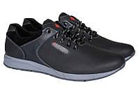 Мужские кожаные кроссовки большого размера M15  р. 46 47 48 49 50, фото 1