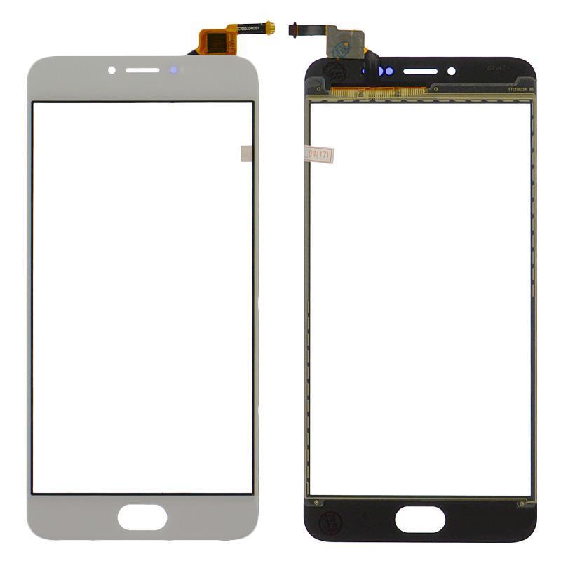Touchscreen Meizu M3 Note (L681)(Боковой шлейф) White OR