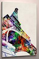 картина эйфелева башня 60х40