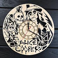 Концептуальные настенные часы в интерьер «Alice Cooper», фото 1