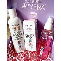 Набор для девочек (шампунь+спрей+бальзам для губ) LITTLE ME Estel Little Me Girl Trio Set