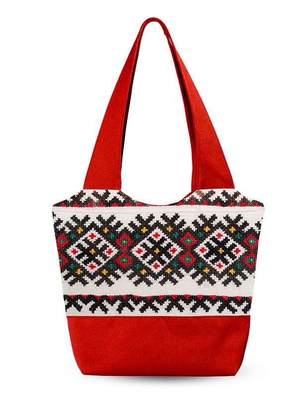Дамская сумка Украинский узор