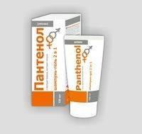 Патенол шампунь-гель 2 в 1 туба 150 мл