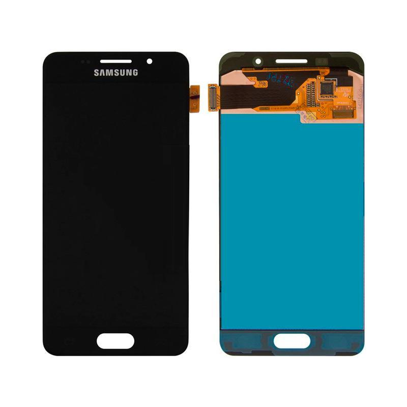 LCD Samsung A310/A3-2016 + touch Black (100% Service OR)