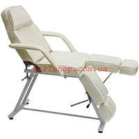 Кресло - кушетка косметологическая для педикюра мод.240 Цвет крем