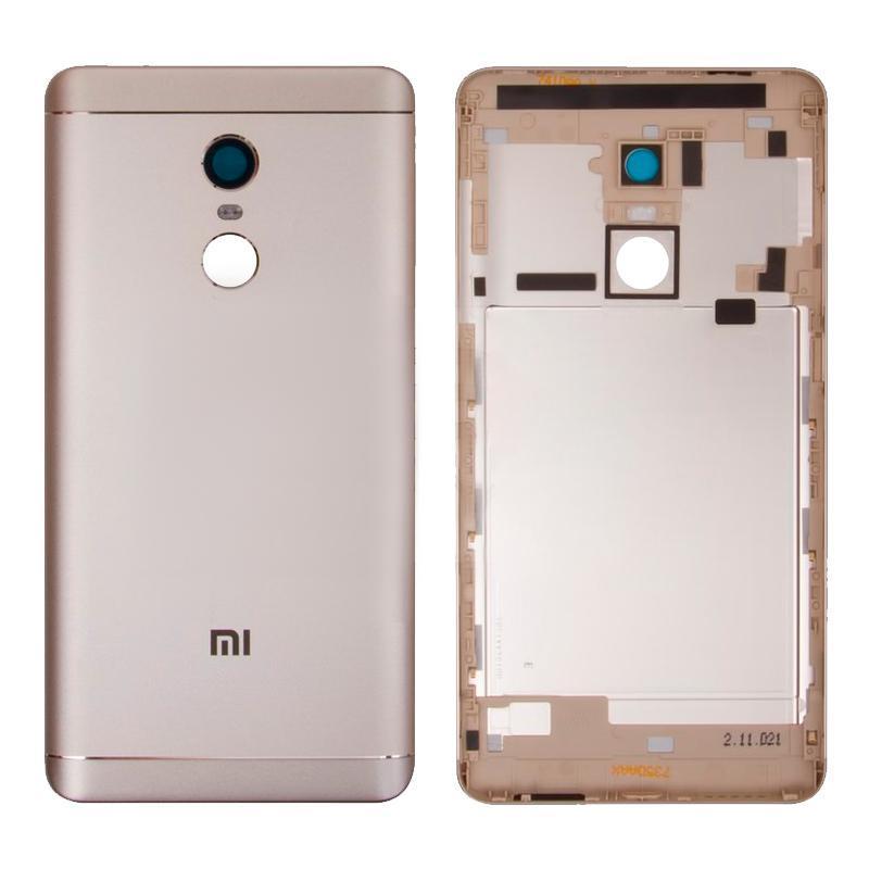 Задняя крышка Xiaomi Redmi Note 4x Gold OR