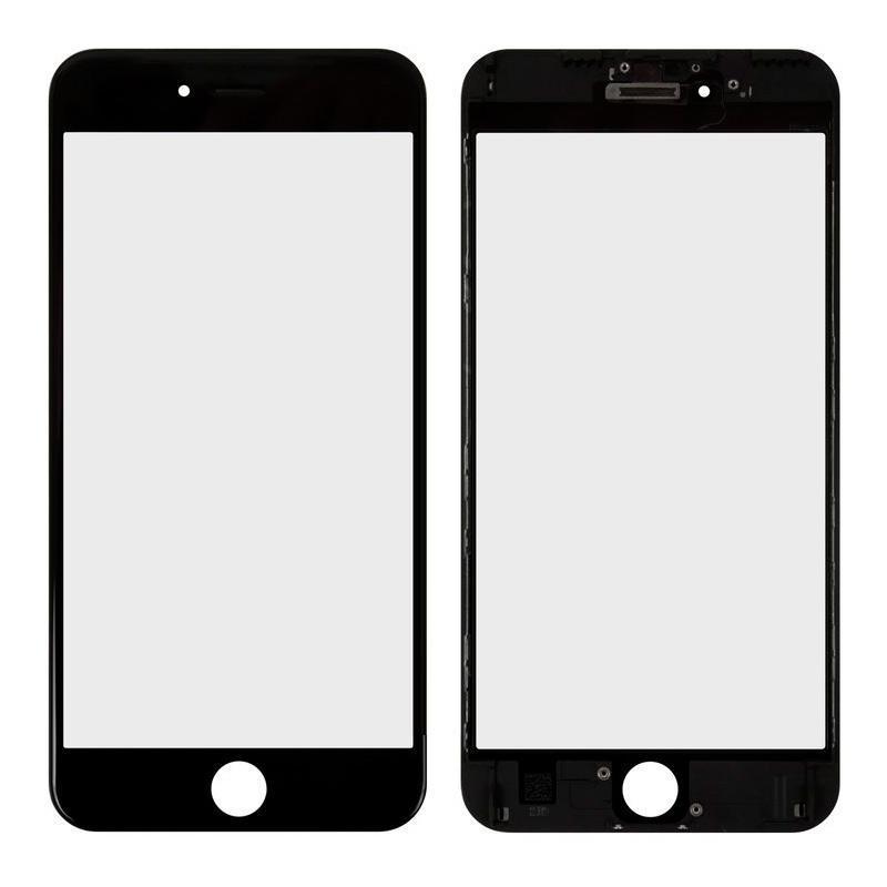 Деталь стекло для переклейки + Рамка + Oca + Polarizing iPhone 6S Plus Black