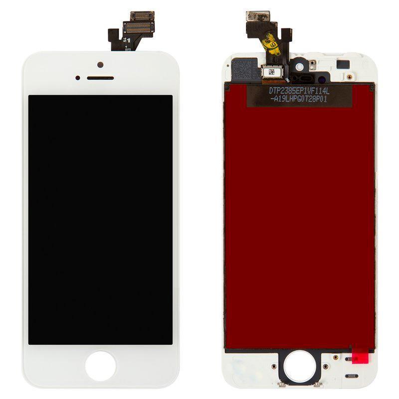 LCD iPhone 5 White Compleate Original (Снятый с телефона)